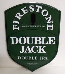 Firestone Double Jack IPA Tin Sign