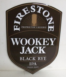 Firestone Wookey Jack IPA Tin Sign