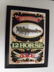 Genesee 12 Horse Ale Mirror