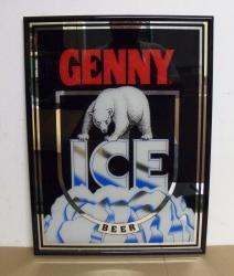 Genny Ice Genesee Beer Bar Mirror genny ice beer mirror Genny Ice Beer Mirror gennyicebeermirror