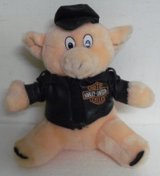 Harley-Davidson Motorcycle Stuffed Plush Hog