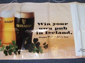 Guinness Harp Beer Banner