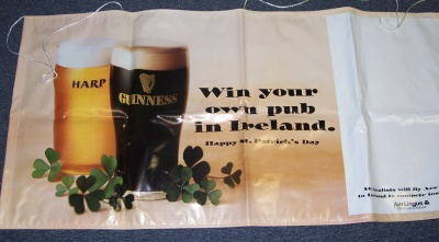 Harp Guinness Beer Bar Banner Sign Harp Guinness Beer Bar Banner Sign Harp Guinness Beer Bar Banner Sign harpguinnessbanner