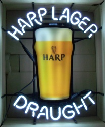 Harp Lager Draught Neon Beer Bar Sign Light Harp Lager Draught Neon Beer Bar Sign Light Harp Lager Draught Neon Beer Bar Sign Light harplagerdraught