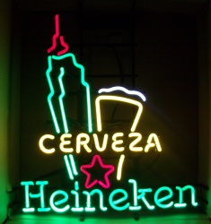 Heineken Cerveza New York Neon Sign  MY BEER SIGN COLLECTION – Not for sale but can be bought… heinekencervezanewyork