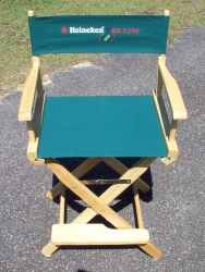 Heineken Beer Directors Chair