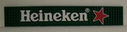 Heineken Star Beer Bar Rail Mat