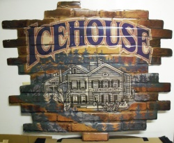 Icehouse Beer Tin Sign