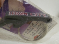 Iron City Beer Bottle Opener Key Ring