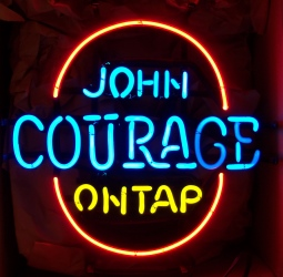 John Courage Beer Neon Sign