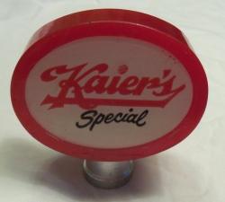 Kaiers Special Beer Tap Handle
