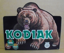 Kodiak Snuff Tobacco Decal