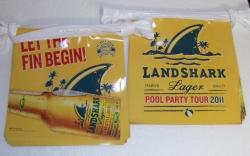 Landshark Lager Flag Banner