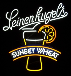 Leinenkugels Sunset Wheat Neon Sign