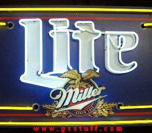 Lite Beer Marquis Neon Sign
