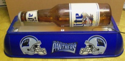 Lite Beer NFL Panthers Pool Table Light