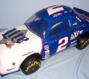 Lite Beer NASCAR Rusty Wallace Inflatable
