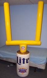 Lite Beer NFL Super Bowl XXIX Inflatable