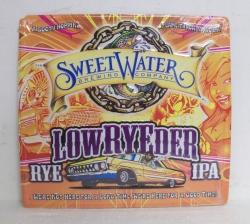 SweetWater Lowryeder IPA Tin Sign