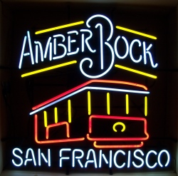 Michelob Amber Bock San Francisco Neon Sign beer sign collection My Beer Sign Collection 2 – Not for sale but can be bought… michelobamberbocksanfransiscocablecar