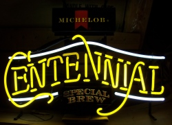 Michelob Centennial Beer Neon Sign