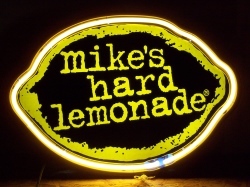 *NEW SEPTEMBER LIST* Mike's Hard Lemonade Neon Beer Bar Sign Light Mike's Hard Lemonade Neon Beer Bar Sign Light Mike's Hard Lemonade Neon Beer Bar Sign Light mikeshardlemonade 1