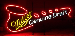 Miller Genuine Draft Beer Saxophone Neon Sign beer sign collection My Beer Sign Collection 2 – Not for sale but can be bought… millergenuinedraftsaxophone1996