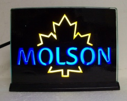Molson Beer Electrigas Light