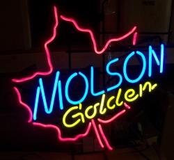Molson Golden Neon Sign