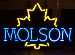 Molson Beer Neon Sign