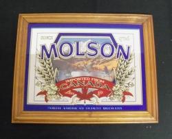 Molson Beer Mirror