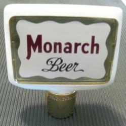 Monarch Beer Bar Vintage Tap Handle