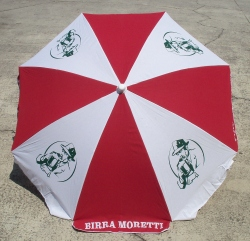Moretti Beer Patio Beach Umbrella