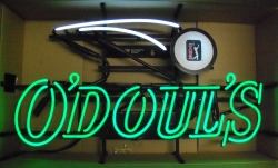 ODouls Beer PGA Golf Neon Sign