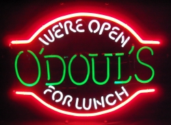 ODouls Beer Lunch Neon Sign