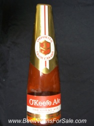 OKeefe Ale Bottle Sign
