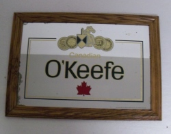 OKeefe Canadian Beer Mirror