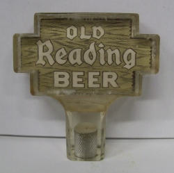 Old Reading Beer Tap Handle