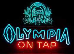 Olympia On Tap Horseshoe Neon Beer Bar Sign Light my beer sign collection MY BEER SIGN COLLECTION 2 – Not for sale but can be bought… olympiaontaphorseshoe