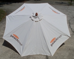 Dekuyper Peachtree Schnapps Patio Umbrella