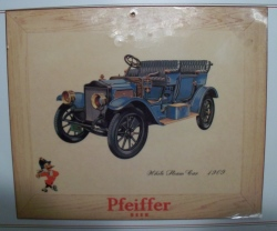 Pfeiffer Beer Sign