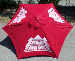 Red Hook Beer Patio Umbrella