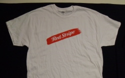 Red Stripe Beer T-Shirt