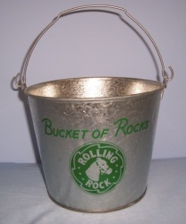 Rolling Rock Copper Tin Bucket Of Rocks Rolling Rock Copper Tin Bucket Of Rocks Rolling Rock Copper Tin Bucket Of Rocks rollingrockbucketofrockscopperbucket