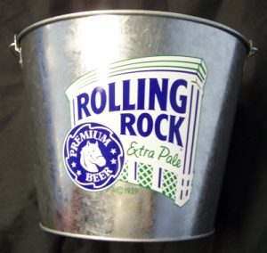 Rolling Rock Beer Bucket rolling rock beer bucket Rolling Rock Beer Bucket rollingrockprideofpabucketrear 300x284