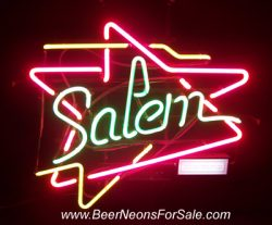 Salem Cigarettes Neon Sign beer sign collection My Beer Sign Collection 2 – Not for sale but can be bought… salemneon e1595065948948