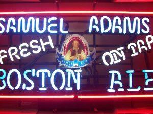 Samuel Adams Boston Ale Neon Sign