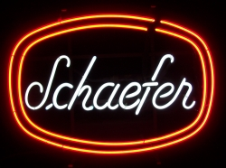 Schaefer Neon Beer Bar Sign Light beer sign collection My Beer Sign Collection 2 – Not for sale but can be bought… schaefer