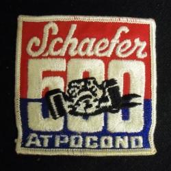 Schaefer 500 At Pocono Beer Uniform Patch