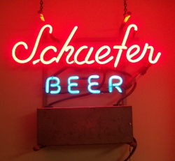 Schaefer Beer Mini Neon Bar Sign Light beer sign collection My Beer Sign Collection 2 – Not for sale but can be bought… schaeferbeermini